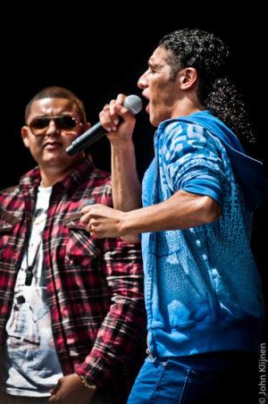 Ali B & Brownie, Brace, Darryl op ParkCity Live, Park Bekkerveld, 23 juni 2012