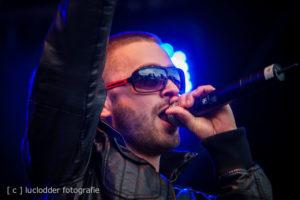 Mr. Polska & Nouveau Riche tijdens ParkCity Live, Park Bekkerveld, 23 juni 2012