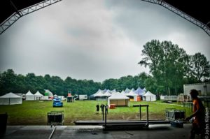 ParkCity Live terrein in opbouw, Mainstage view