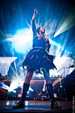 Within Temptation speelt live op ParkCity Live, Park Bekkerveld, 23 juni 2012