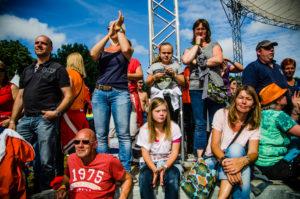 Publiek tijdens ParkCity Live, Heerlen 5 juli 2014