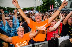 Publiek tijdens ParkCity Live, Heerlen 6 juli 2014