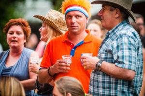 Klaar voor de wedstrijd ParkCity Live, Heerlen 5 juli 2014