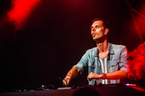 Jacob van Hage live tijdens ParkCity Live, Heerlen 6-7-2014