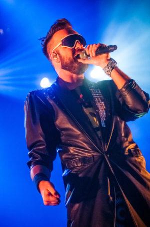 Memphis Maniacs live tijdens ParkCity Live, Heerlen 6-7-2014