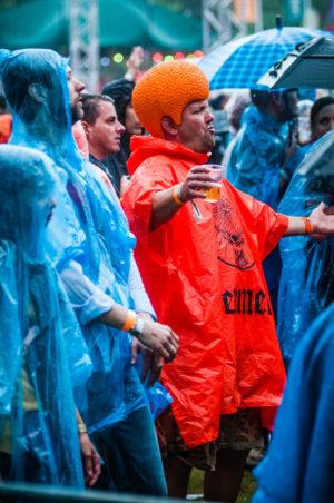 Oranje fan live op ParkCity Live, Heerlen 5 juli 2014