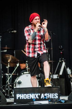 Phoenix'Ashes live op ParkCity Live, Heerlen 5 juli 2014