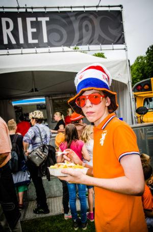Publiek op ParkCity Live, Heerlen 5 juli 2014