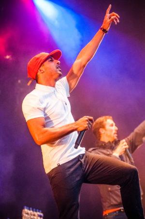 The Opposites live op ParkCity Live, Heerlen 5 juli 2014